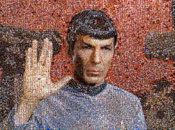Spock Selfie Mosaic