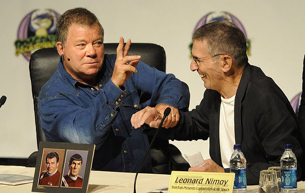 William Shatner And Leonard Nimoy