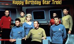 Happy 49th Birthday Star trek