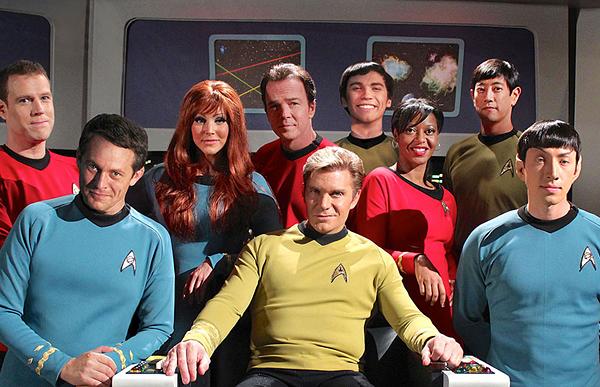 """""""Star Trek Continues"""" Cast"""