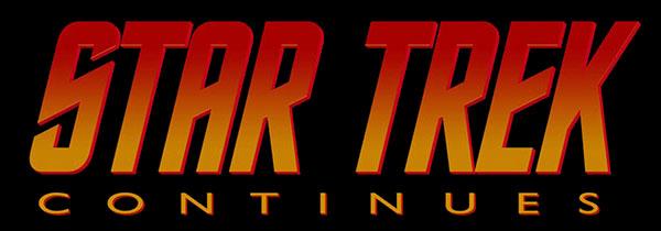 """Star Trek Continues"" Logo"