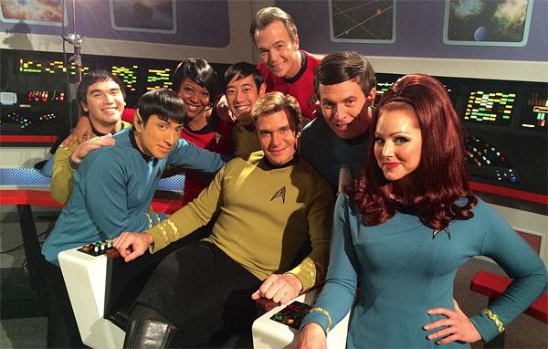 The Star Trek Continues Regulars