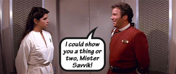 Kirk and Saavik: The Wrath of Khan