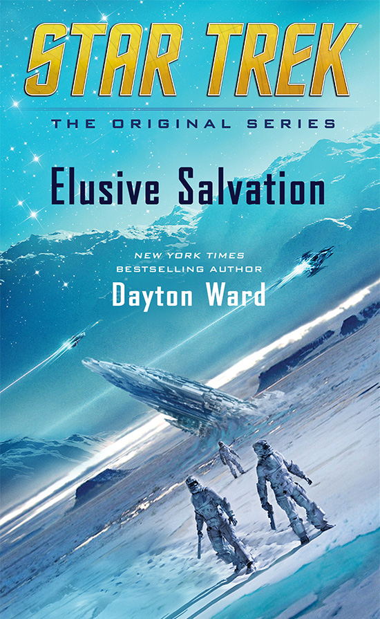Star Trek: Elusive Salvation Cover