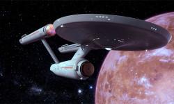 The U.S.S. Enterprise in Orbit