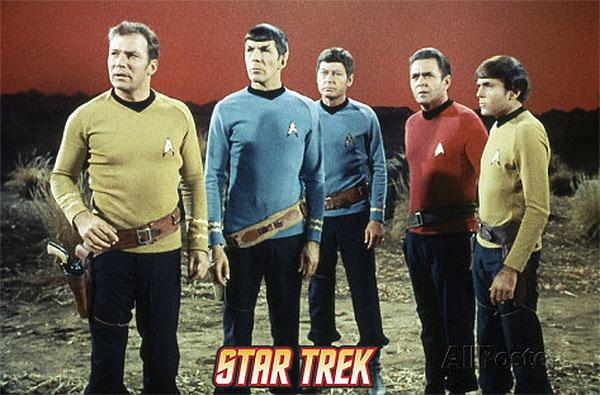 """Kirk, Spock, McCoy, Scotty and Chekov - All Names Contain A """"K"""" Sound!"""