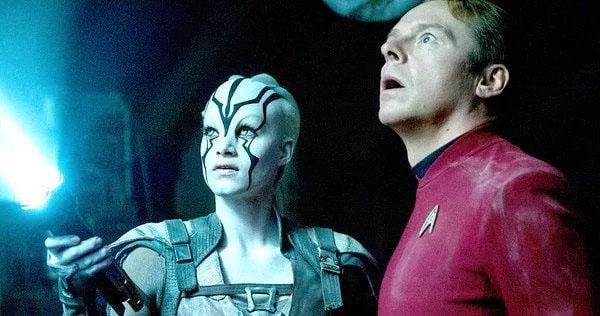 Jaylah And Scotty - Star Trek Beyond