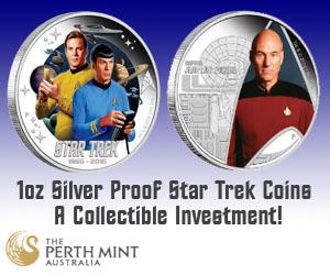 Star Trek Proof Silver Coins