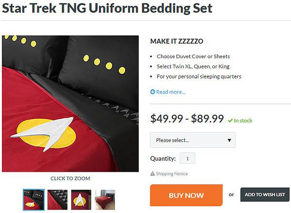 TNG Bedding