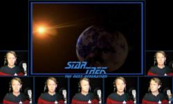 The Star Trek: The Next Generation Theme Sung A Capella