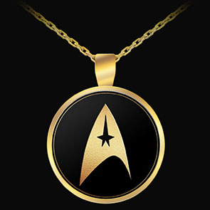 Star Trek Delta Logo Pendant