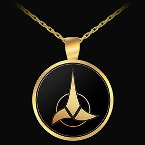 Star Trek Klingon Pendant/Necklace