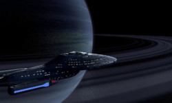 Voyager Ringed Planet