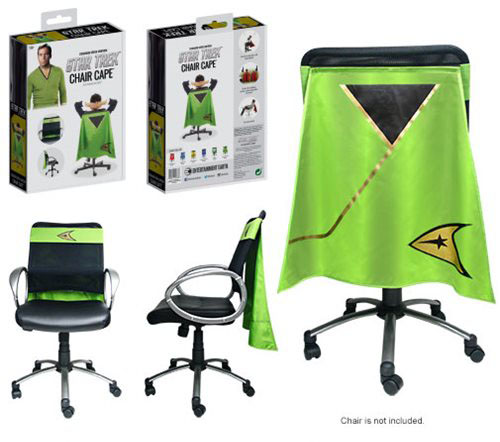 Chair Cape - Kirk Green Shirt