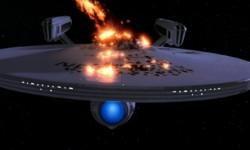 Destruction of the USS Enterprise